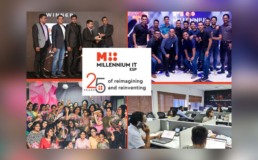 MillenniumIT ESP celebrates 25 years of Reimagining Today and Reinventing Tomorrow