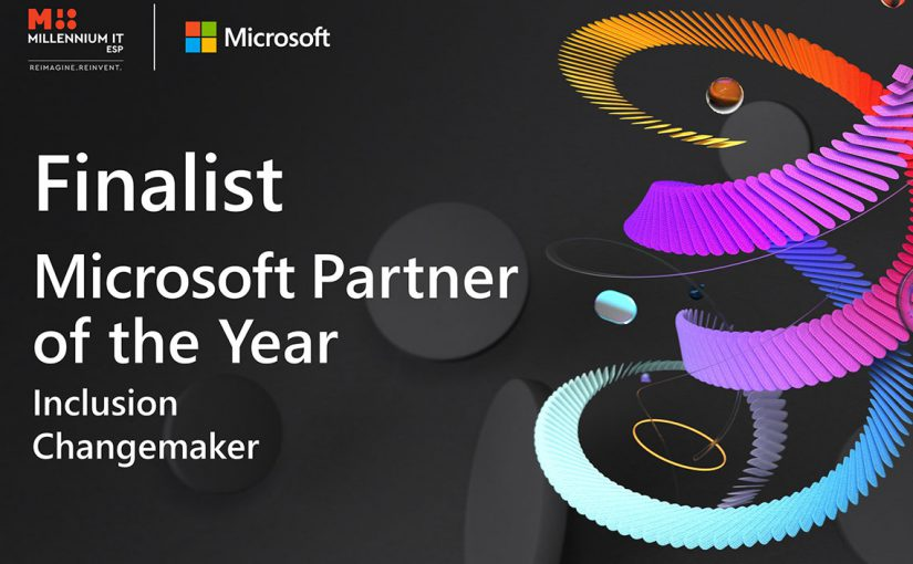 MillenniumIT ESP recognized as a finalist of 2021 Microsoft Inclusion Changemaker Partner of the Year